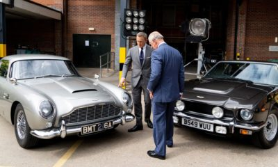 New tech  gadgets  gizmos  hi tech  Aston Martin exposed the 4 cars and trucks James Bond will drive in the brand-new 007 motion picture