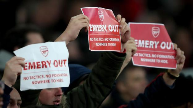 Kittens Unai Emery: The informing statistics behind Arsenal manager's downfall