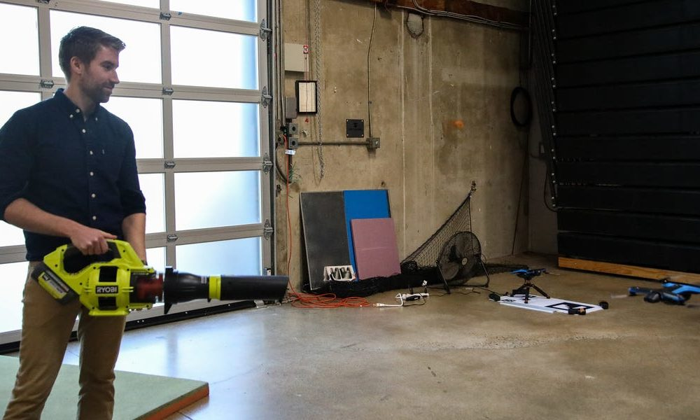 New tech  gadgets  gizmos  hi tech  Inside drone startup Skydio's Silicon Valley offices, where it evaluates the autonomous gadgets utilizing leaf blowers