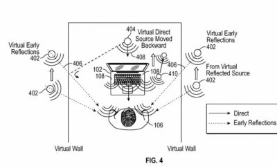 New tech  gadgets  gizmos  hi tech  Apple has an idea for immersive audio innovation that could one day play an essential role in its huge strategies for increased reality (AAPL)