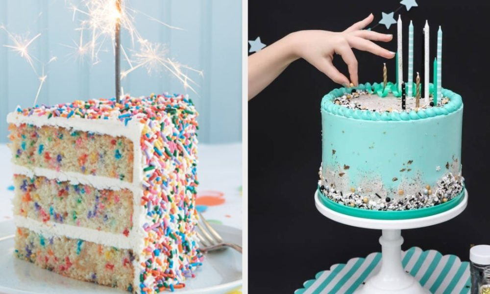 Recipes 20 Birthday Cake Recipes That May Just Be Better Than Store-Bought