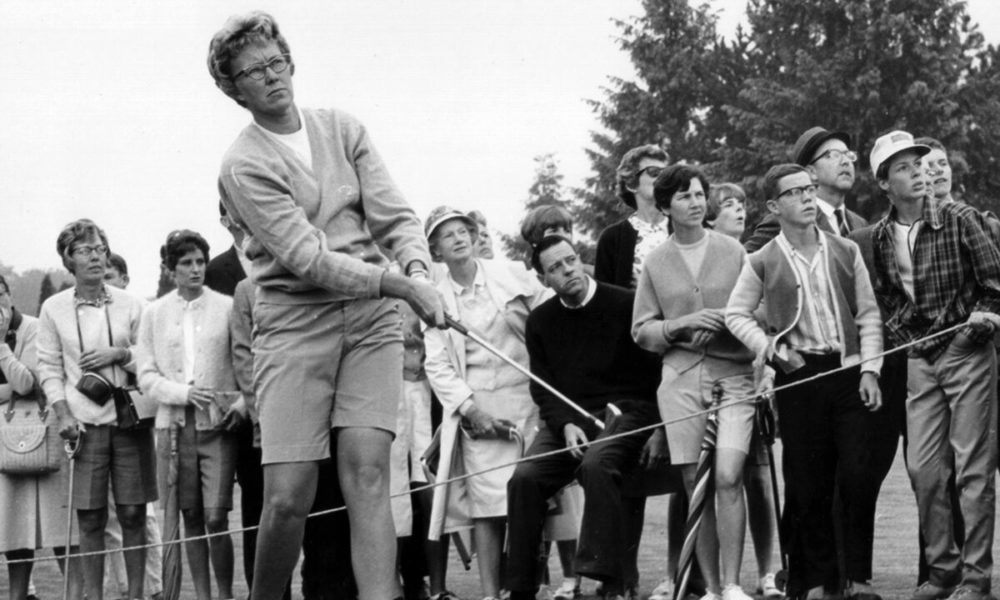 Gardening Mickey Wright, golf excellent and early LPGA force, dies at 85