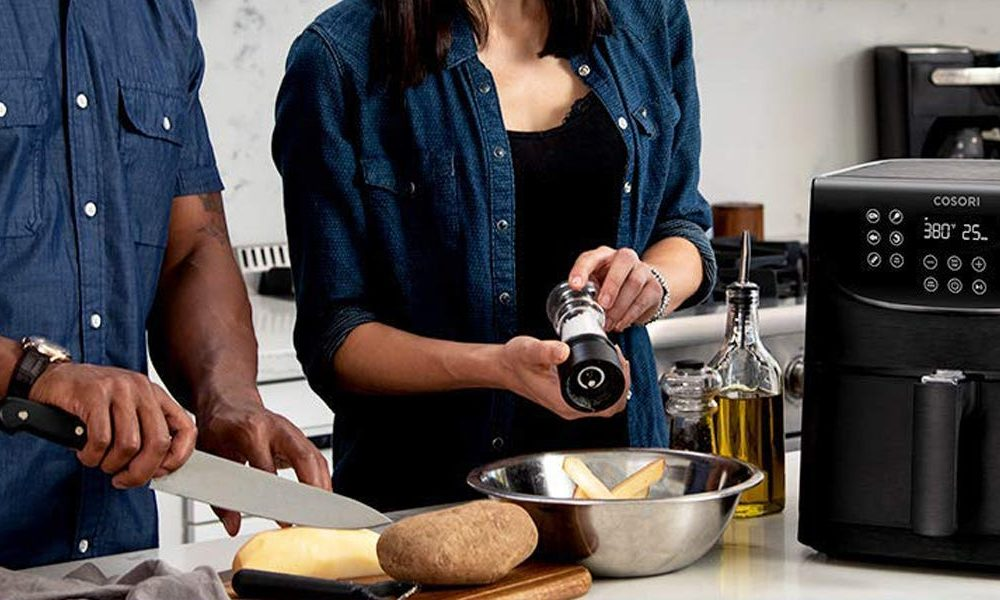 New tech  gadgets  gizmos  hi tech  This wise air fryer gets in touch with an app that has dozens of dishes and a remote on/off function, and it makes best french fries in thirty minutes