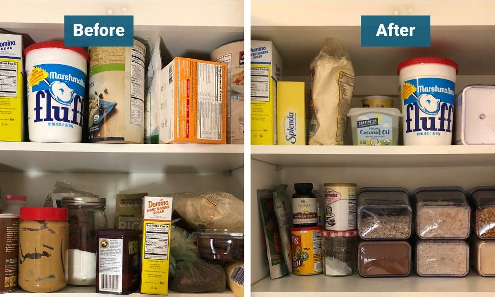 New tech  gadgets  gizmos  hi tech  I organized my kitchen pantry with these air-tight storage containers and can finally see everything in my cabinets