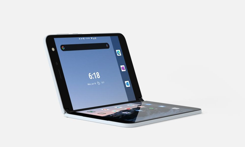 New tech  gadgets  gizmos  hi tech  Microsoft is releasing the Surface area Duo next month, its enthusiastic foldable phone with two screens that opens and closes like a book. Here's how it works. (MSFT)