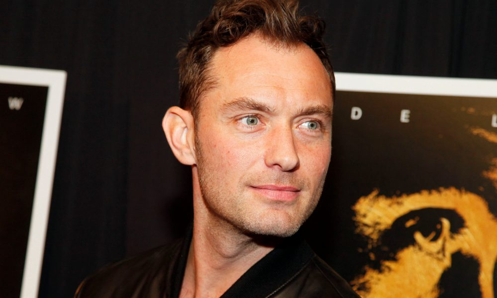 Gardening Jude Law confirms he's now a daddy of 6