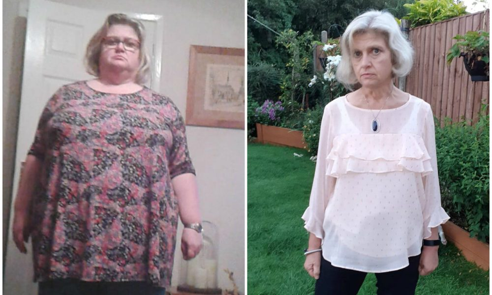 Gardening Female drops 165 pounds without providing up preferred foods