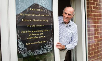 Gardening Lonesome widower posts sign in window seeking relationship amidst pandemic